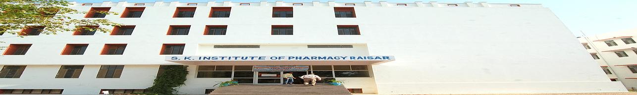 Swami Keshvanand Institute of Pharmacy - [SKIP], Bikaner