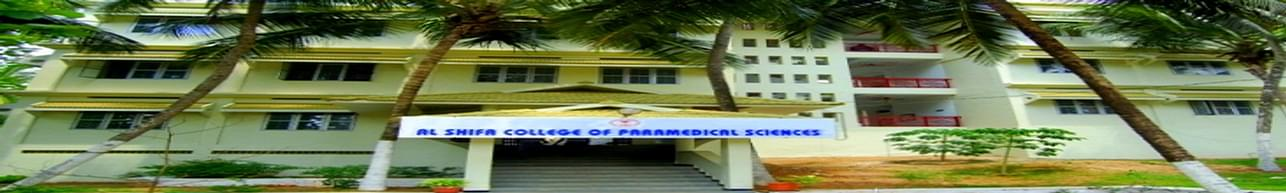 Al Shifa College of Paramedical Sciences, Perinthalmanna - Course & Fees Details