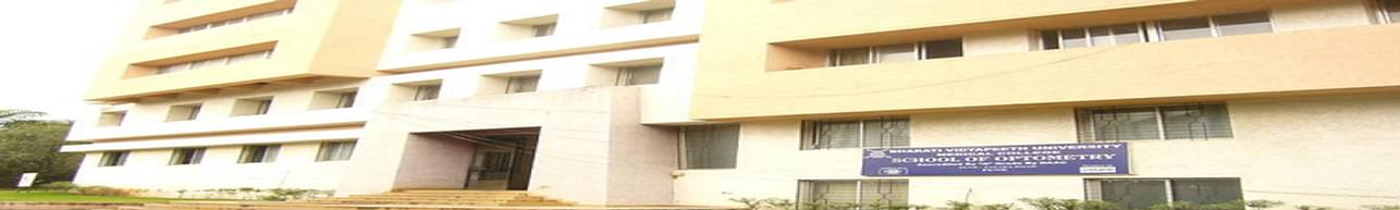 Bharati Vidyapeeth Deemed University, Medical College School of Optometry, Pune