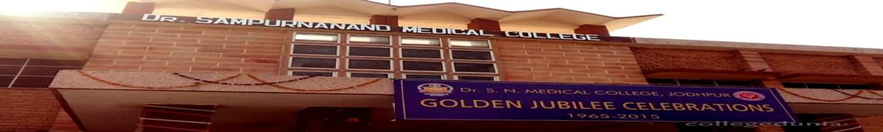 Dr SN Medical College & Hospital, Jodhpur