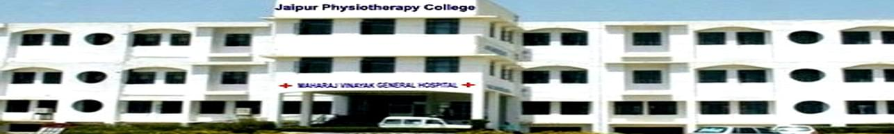 Jaipur Physiotherapy College and Hospital, Jaipur - Course & Fees Details