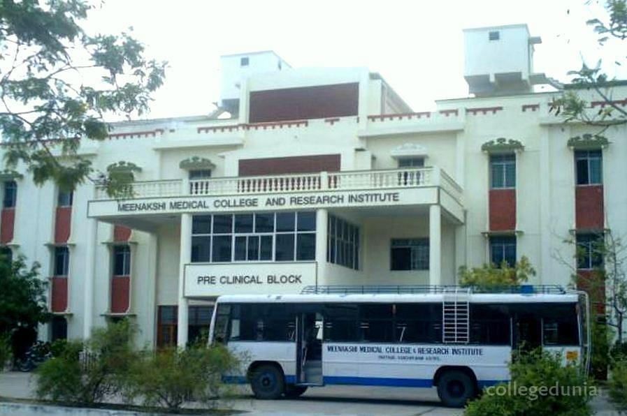 Meenakshi Medical College and Research Institute, Maher University