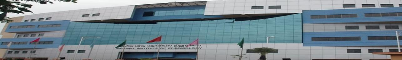 National Institute of Epidemiology - [NIE], Chennai - List of Professors and Faculty