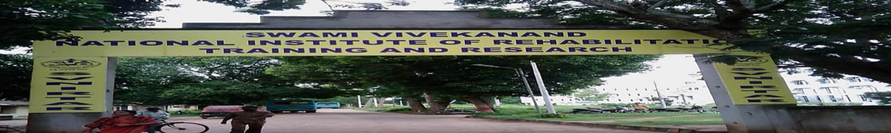 Swami Vivekanand National Institute of Rehabilitation Training and Research - [SVNIRTAR], Cuttack - Course & Fees Details