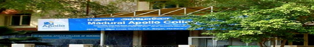 Apollo College of Nursing, Madurai - Course & Fees Details