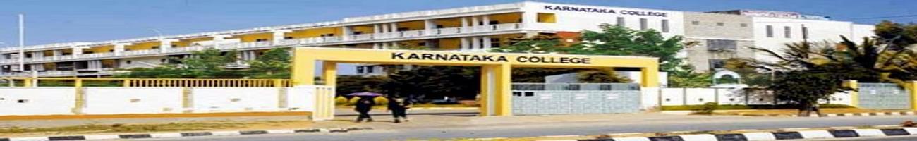 Karnataka College of Nursing, Bangalore