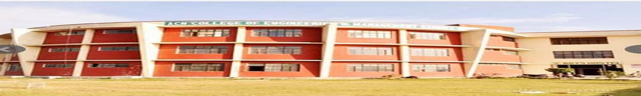 ACN College of Engineering and Management Studies, Aligarh