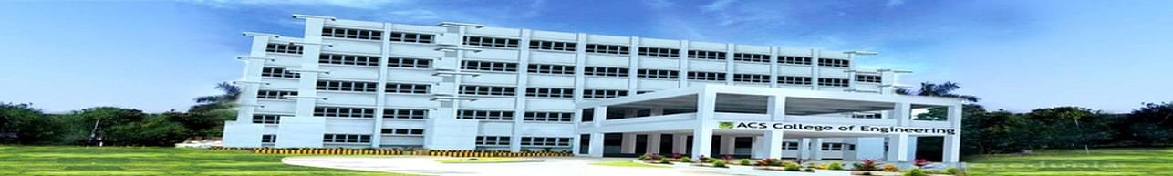 ACS College of Engineering - [ACSCE], Bangalore