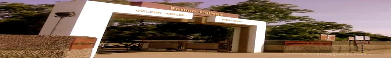 Fatima College, Madurai - List of Professors and Faculty