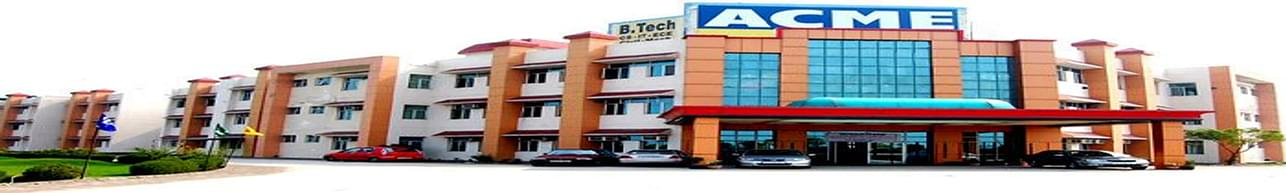 Applied College of Management and Engineering - [ACME], Faridabad - Course & Fees Details