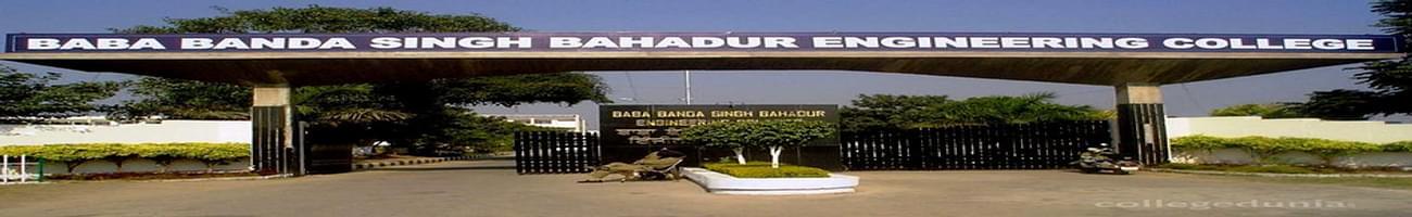 Baba Banda Singh Bahadur Engineering College - [BBSBEC], Fatehgarh Sahib
