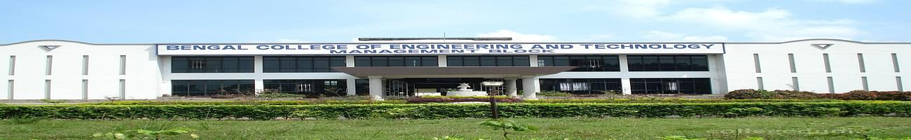 Bengal College of Engineering and Technology, Durgapur