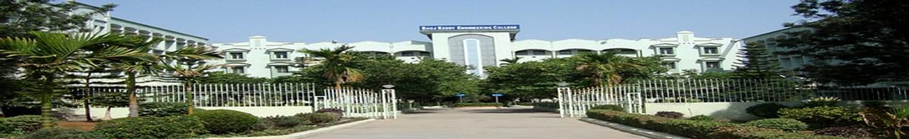 Bhoj Reddy Engineering College for Women, Hyderabad