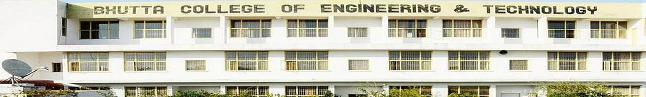 Bhutta College of Engineering and Technology - [BCET], Ludhiana - Course & Fees Details