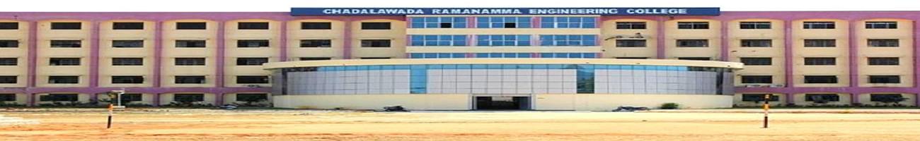 Chadalawada Ramanamma Engineering College - [CREC], Tirupati