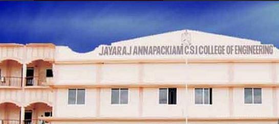 Jayaraj Annapackiam CSI College of Engineering - [JACSICE]