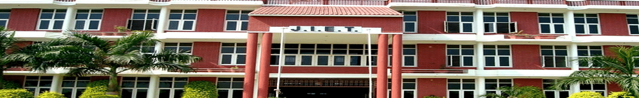 Jind Institute of Engineering and Technology - [JIET], Jind
