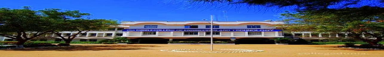 Kurinji College of Engineering and Technology, Thiruchirapalli