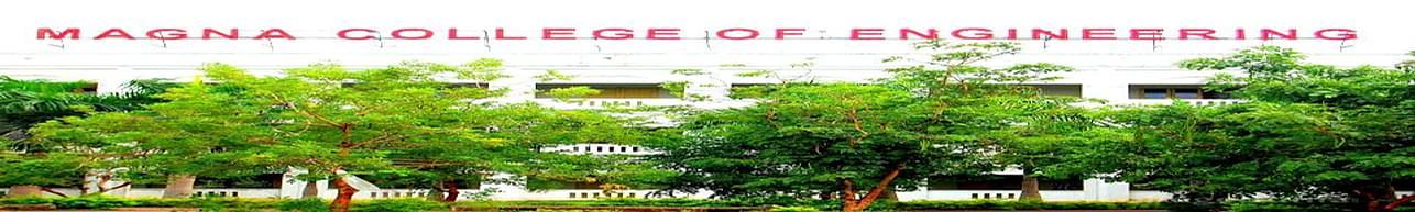 Magna College of Engineering, Chennai