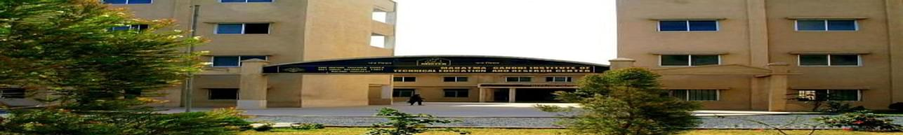 Mahatma Gandhi Institute of Technical Education and Research Center - [MGITER], Navsari