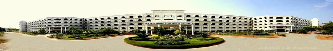 Mohamed Sathak AJ College of Engineering - [MSAJCE], Chennai