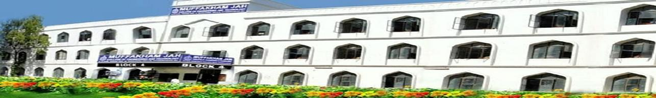 Muffakham Jah College of Engineering & Technology - [MJCET], Hyderabad