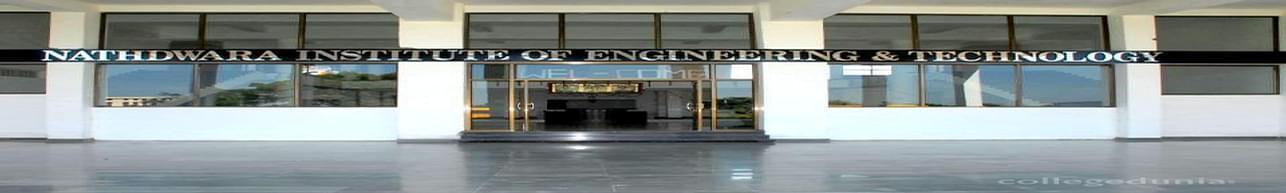 Nathdwara Institute of Engineering and Technology - [NIET], Rajsamand