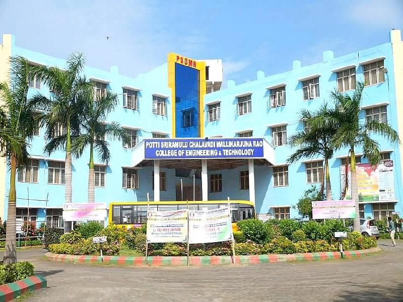 Potti Sriramulu College of Engineering and Technology - [PSCMRCET]