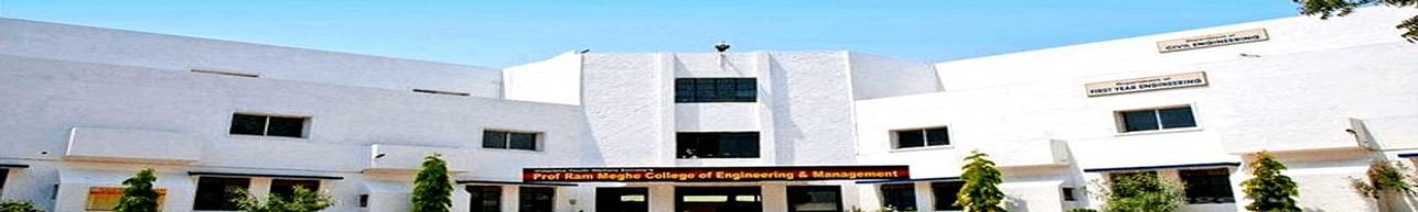 Prof Ram Meghe College of Engineering and Management, Amravati