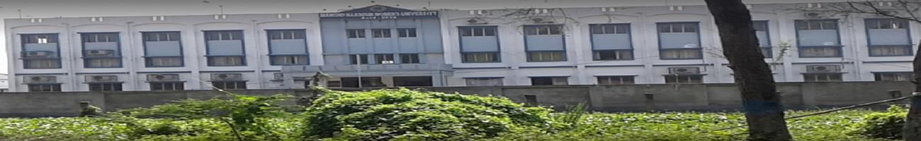 Diamond Harbour Women's University, South 24 Parganas