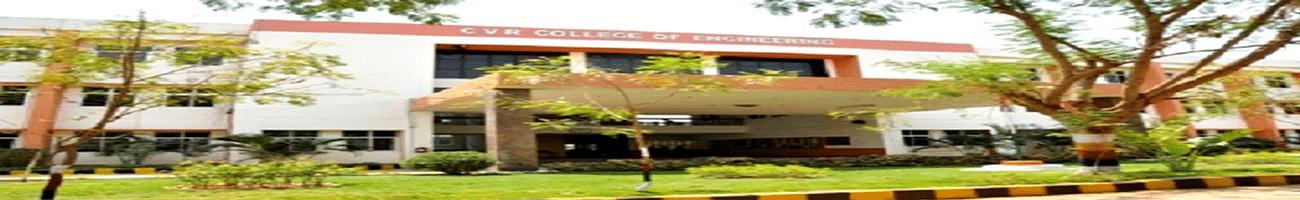CVR College of Engineering, Rangareddi