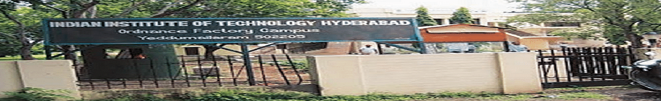 Indian Institute of Technology - [IIT], Hyderabad