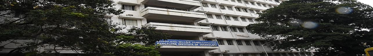 Bangalore Institute of Technology - [BIT], Bangalore - Course & Fees Details