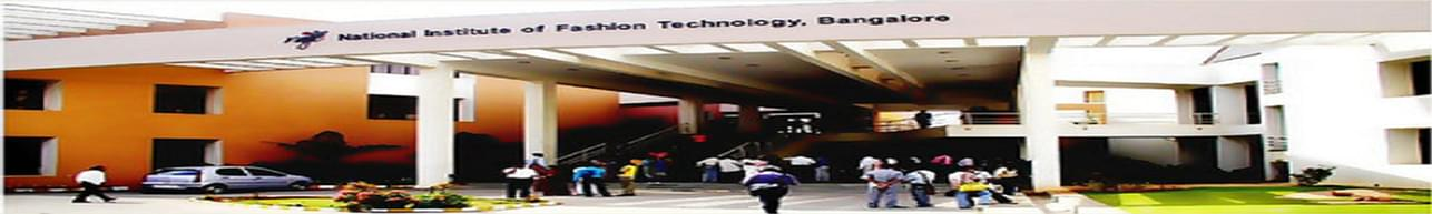 National Institute of Fashion Technology - [NIFT], Bangalore - Course & Fees Details