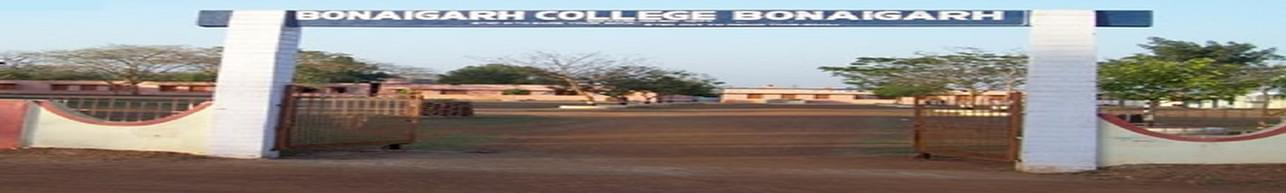 Bonaigarh college, Bonaigarh