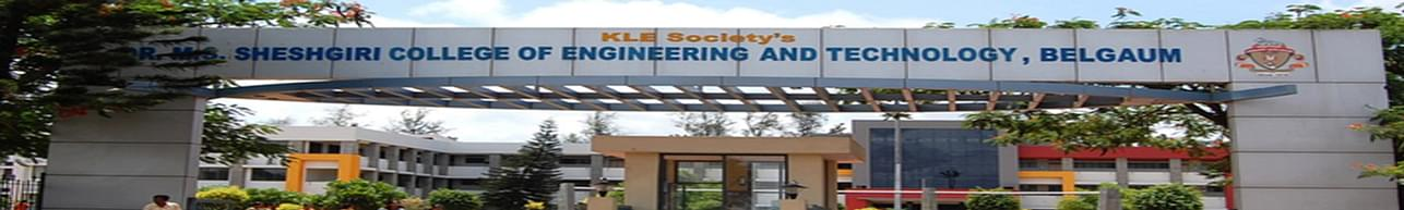 KLE Dr. M S Sheshgiri College of Engineering and Technology - [DR.MSSCET], Belgaum