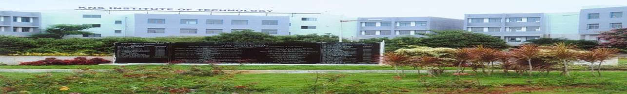 KNS Institute of Technology - [KNSIT], Bangalore