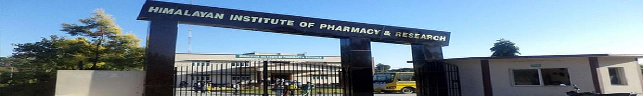 Himalayan Institute of Pharmacy and Research - [HIPR], Dehradun