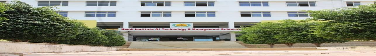 Nandi Institute of Technology and Management Sciences - [NITMS], Bangalore