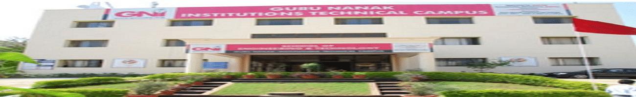 Guru Nanak Institutions Technical Campus - [GNITC] Ibrahimpatnam, Rangareddi