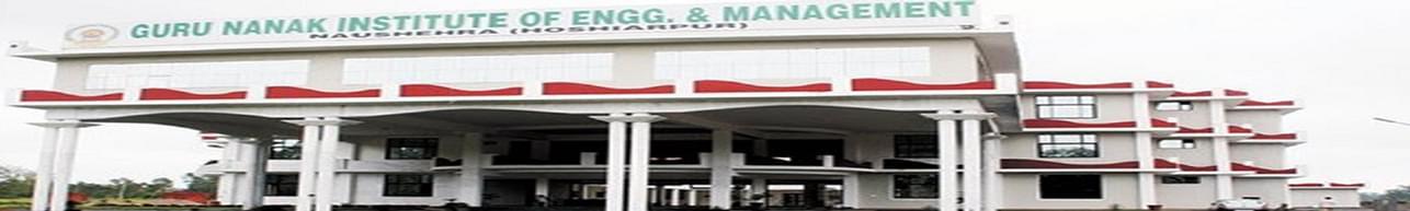 Guru Nanak Institute Of Engineering and Management, Hoshiarpur