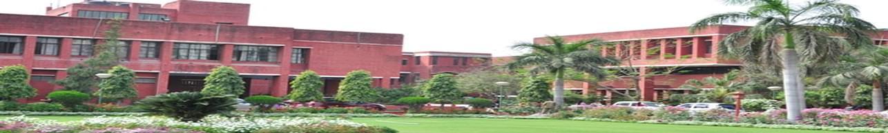 Shyama Prasad Mukherji College - [SPM], New Delhi