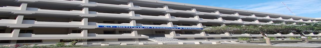 CT Institute of Technology & Research - [CTITR], Jalandhar