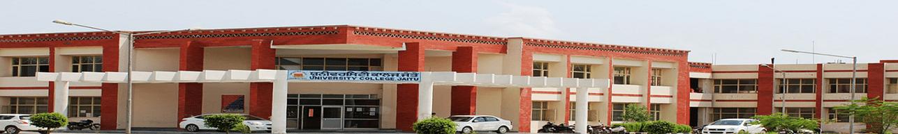 University College Jaitu, Jaitu