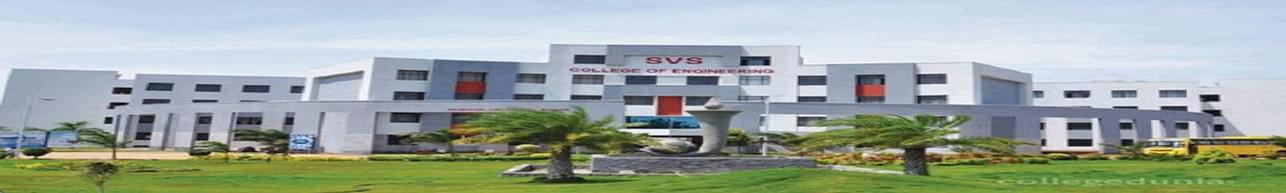 SVS College of Engineering - [SVSCE], Coimbatore