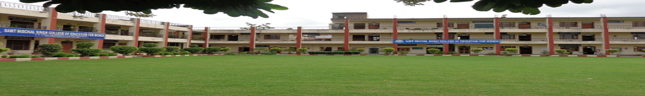 Sant Nischal Singh College of Education for Women, Yamuna Nagar
