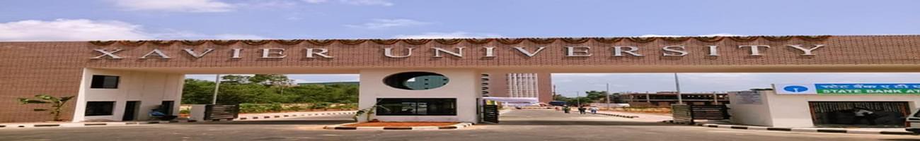 Xavier University - [XUB], Bhubaneswar