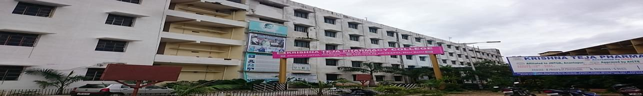 Krishna Teja Pharmacy College, Tirupati