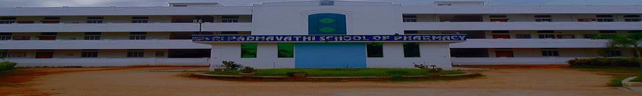 Sri Padmavathi School of Pharmacy - [SPSP], Tirupati