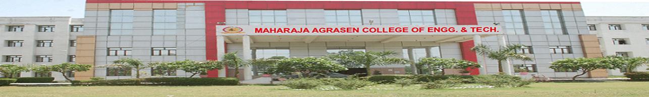 Maharaja Agrasen College of Engineering & Technology - [MACET], Jyotiba Phule Nagar